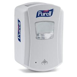 Cheap Stationery Supply of Purell  Gojo LTX White Touch Free Dispenser 700ml Office Statationery