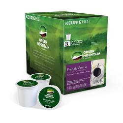 Cheap Stationery Supply of Keurig Green Mountain Coffee Vanilla KCup Pods 24s Office Statationery