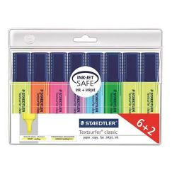 Cheap Stationery Supply of Staedtler Highlighters Assorted 15mm Line Pack 8s Office Statationery