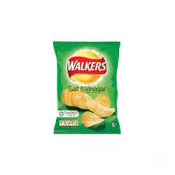 Cheap Stationery Supply of Walkers Crisps Salt & Vinegar Pack 32s Office Statationery
