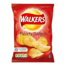 Cheap Stationery Supply of Walkers Crisps Ready Salted Pack 32s Office Statationery