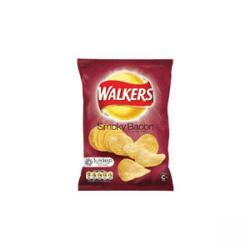 Cheap Stationery Supply of Walkers Crisps Smokey Bacon Pack 32s Office Statationery