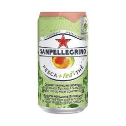 Cheap Stationery Supply of San Pellegrino Peach Iced Tea Cans 24x250ml Office Statationery