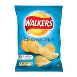 Cheap Stationery Supply of Walkers Crisps Cheese & Onion Pack 32s Office Statationery