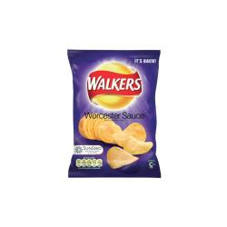 Cheap Stationery Supply of Walkers Crisps Worcester Sauce Pack 32s Office Statationery