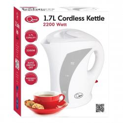 Cheap Stationery Supply of Quest Cordless White Jug Kettle 1.7L Office Statationery