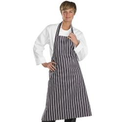Cheap Stationery Supply of BClick Workwear Chefs Butchers BlackWhite Apron Office Statationery