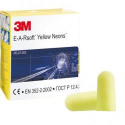 Cheap Stationery Supply of EAR Neons Yellow Earplugs Pack 250s Office Statationery