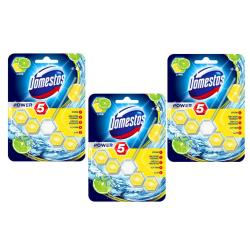 Cheap Stationery Supply of Domestos Power 5 Lime Rim Block Office Statationery