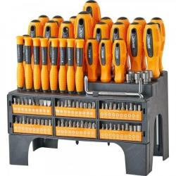 Cheap Stationery Supply of RAC 100 Piece Screwdriver Set Office Statationery