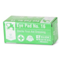 Cheap Stationery Supply of BClick Medical Eye Pad No. 16 Sterile First Aid Dressing Office Statationery