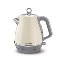 Cheap Stationery Supply of Morphy Richards Evoke Cream 3KW 1.5L Jug Kettle Office Statationery