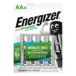 Energizer Rechargeable Extreme Battery AA Pack 4s