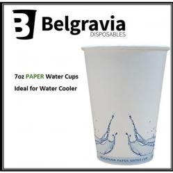 Cheap Stationery Supply of 7oz Belgravia Paper Water Cups Office Statationery