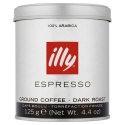 Cheap Stationery Supply of Illy Dark Roast Ground Coffee 125g Office Statationery