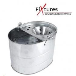 Cheap Stationery Supply of Fixtures Galvanised Stainless Steel Mop Bucket Office Statationery