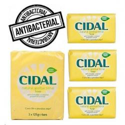 Cheap Stationery Supply of Cidal Natural Antibacterial Soap 2x125g Office Statationery
