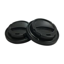 Cheap Stationery Supply of 8oz Belgravia Sip Through Black Lids Office Statationery