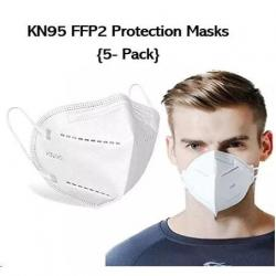 Cheap Stationery Supply of Disposable FFP2 Face Masks Pack 5s Office Statationery