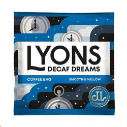 Cheap Stationery Supply of Lyons Decaf Dreams Coffee Bags 150s Office Statationery