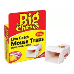 Cheap Stationery Supply of Big Cheese Live Catch Mouse Traps 2 Pack STV155 Office Statationery