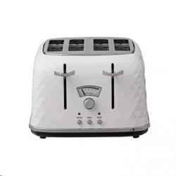 Cheap Stationery Supply of Delonghi White Brillante 4 Slice Toaster Office Statationery