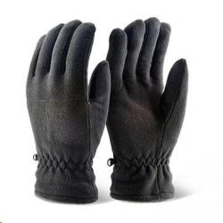 Cheap Stationery Supply of BClick 2000 Black Thinsulate Fleece Gloves Pair Office Statationery