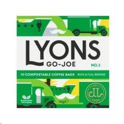 Cheap Stationery Supply of Lyons Go Joe Coffee Break Bags 70g Office Statationery