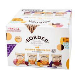 Cheap Stationery Supply of Border Biscuits 48 Twin Packs A08042 Office Statationery