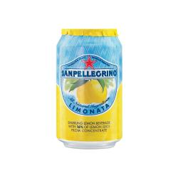 Cheap Stationery Supply of San Pellegrino Sparkling Lemon Cans 24x330ml Office Statationery