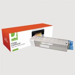 Cheap Stationery Supply of Q-Connect Oki Remanufactured Black Toner Cartridge 43865708 Office Statationery