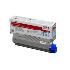 Oki C5650/C5750 Cyan Toner Cartridge 43872307