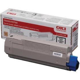 Oki Black Toner Cartridge (8,000 Page Capacity) 43865708
