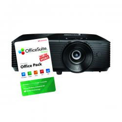 Cheap Stationery Supply of Optoma S322E Projector Black FOC 6 Month Officesuite Licence Office Statationery