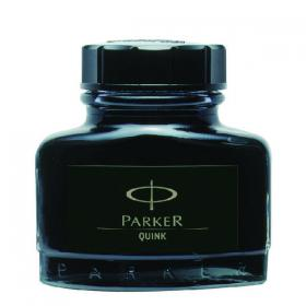Parker Quink Permanent Ink Bottle Black 2oz S0037460