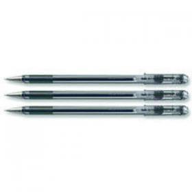 Pentel Superb Ballpoint Pen Fine Black (Pack of 12) BK77-A