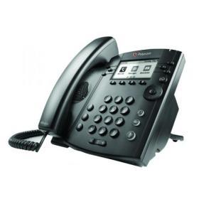 Polycom VVX 310 Microsoft Lync Black Wired Handset 2200-46161-019