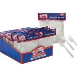Cheap Stationery Supply of Eat Easee Plastic Fork Pack of 60 083/994 083/994 Office Statationery