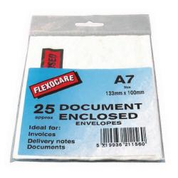 Cheap Stationery Supply of A7 Document Enclosed Envelopes For Parcels (Pack of 25) 57167110 Office Statationery