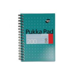 Cheap Stationery Supply of Pukka Pad Ruled Wirebound Mettalic Jotta Notepad 200 Pages A6 (Pack of 3) JM036 Office Statationery