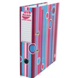 Cheap Stationery Supply of Pukka Pad A4 Cardboard Lever Arch File File Pink/Blue PBLAA4 PBLAA4 Office Statationery