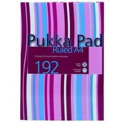 Cheap Stationery Supply of Pukka Pad Stripes Casebound Notebook 192 Pages A4 Blue/Pink (Pack of 5) RULSTRA4 Office Statationery
