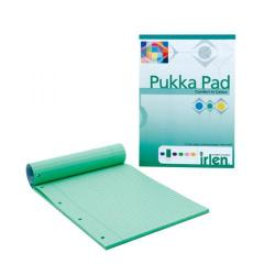 Cheap Stationery Supply of Pukka Pad A4 Refill Pad Green (Pack of 6) IRLEN50 Office Statationery