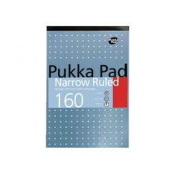 Cheap Stationery Supply of Pukka Refill Pad A4 4 Hole Punched Narrow Ruled 160 Pages 6253-REF Office Statationery