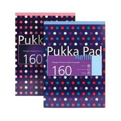 Cheap Stationery Supply of Pukka Pad A4 Ruled Dots Refill Pad pack of 1 6257-DTS Office Statationery