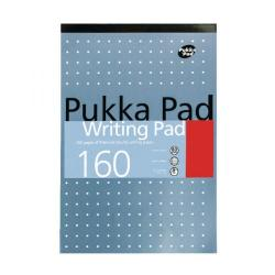 Cheap Stationery Supply of Pukka Refill Pad A5 Headbound Feint Ruled 160 Pages Pack of 6 6468-MET Office Statationery
