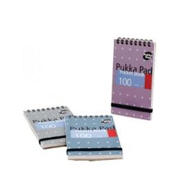 Pukka Pad Ruled Wirebound Metallic Pocket Notebook 100 Pages A7 (Pack of 6) 6254-MET