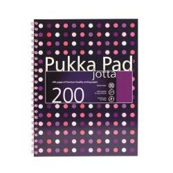 Cheap Stationery Supply of Pukka Pad A4 Jotta Pad Polka Dot Assorted PP16313 6313-DTS Office Statationery