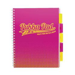 Cheap Stationery Supply of Pukka Halftone A4 Project Book Assorted 8196-HLT Office Statationery