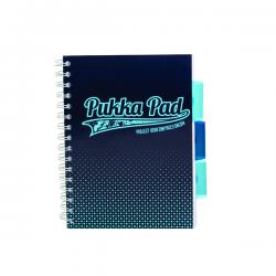 Cheap Stationery Supply of Pukka Halftone A5 Project Book Assorted 8197-HLT Office Statationery